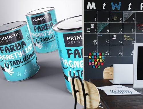 Tablica w Twoim domu. Właściwości farby magnetyczno-tablicowej